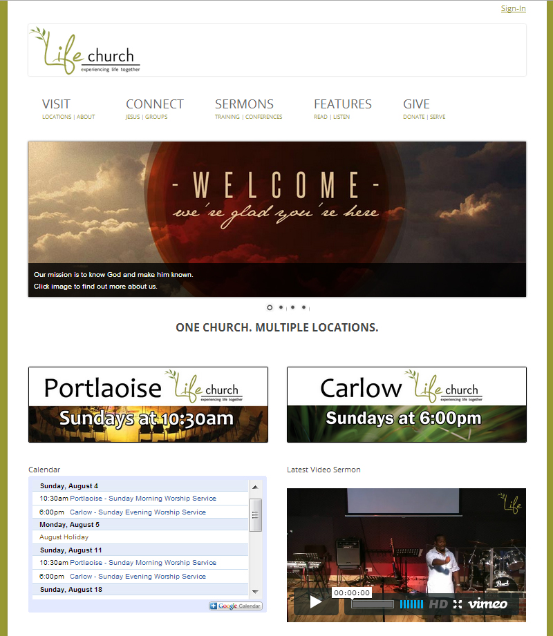 WWW.LIFECHURCH.IE